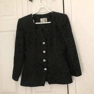 Jacket and skirt